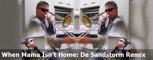 When Mama Isn't Home: De Sandstorm Remix