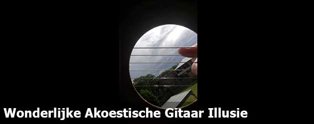 Wonderlijke Akoestische Gitaar Illusie
