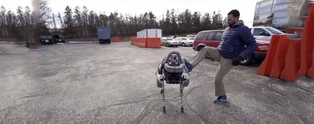 Afschuwelijk Filmpje Hond Robot Opgedoken