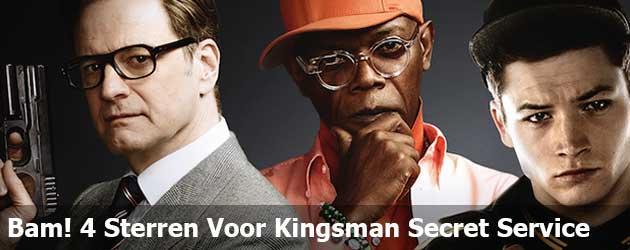 Bam! 4 Sterren Voor Kingsman Secret Service