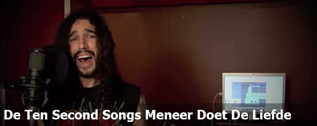 De Ten Second Songs Meneer Doet De Liefde
