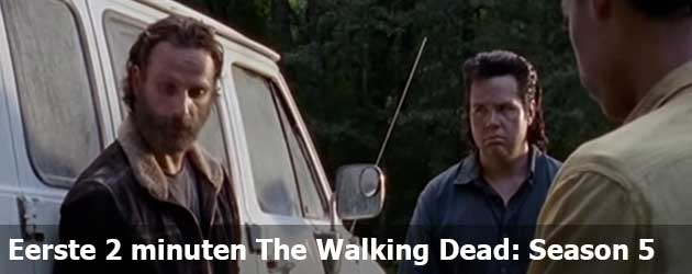Eerste 2 minuten The Walking Dead: Season 5