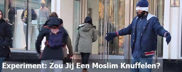 Experiment: Zou Jij Een Moslim Knuffelen?