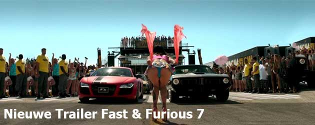 Nieuwe Trailer Fast & Furious 7