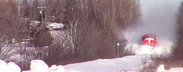Sneeuw Op Het Spoor? Zo Gaat Dat In Canada