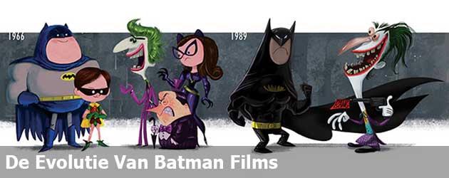 De Evolutie Van Batman Films