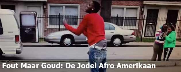 Fout Maar Goud: De Jodel Afro Amerikaan