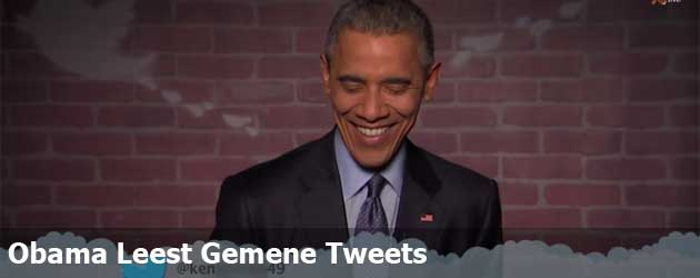 Obama Leest Gemene Tweets