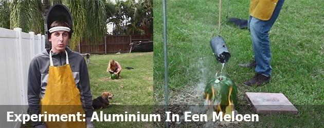 Experiment: Aluminium In Een Meloen
