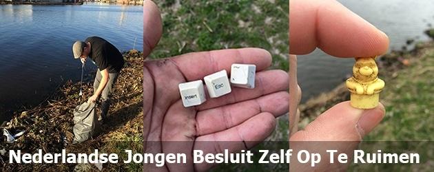 Nederlandse Jongen Besluit Zelf Op Te Ruimen