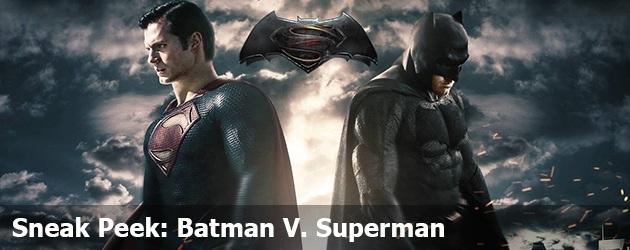 Sneak Peek: Batman V. Superman