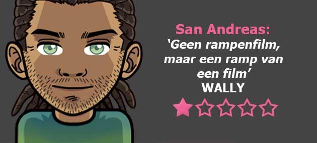 Wat Vindt Wally: Review San Andreas