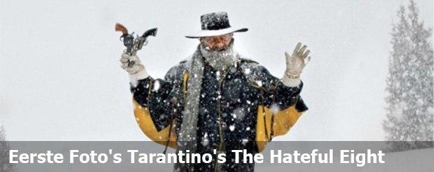 Eerste Foto's Tarantino's The Hateful Eight