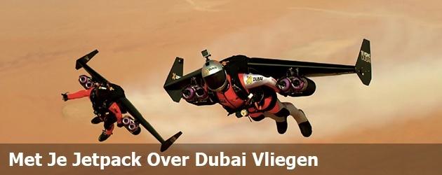 Met Je Jetpack Over Dubai Vliegen