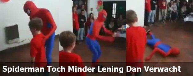 Spiderman Toch Minder Lening Dan Verwacht
