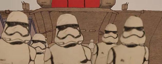 Star Wars Trailer Geheel Van Papier