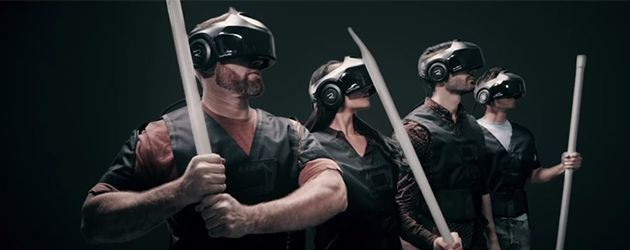 Vet! Virtual Reality Theme Park The Void