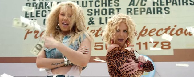 Britney & Iggy's Pretty Girls Zonder Muziek