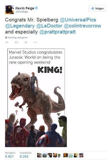 Marvel Studio's Is Een Sportieve Verliezer