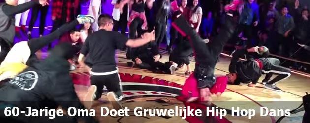 60-Jarige Oma Doet Gruwelijke Hip Hop Dans