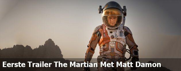 Eerste Trailer The Martian Met Matt Damon