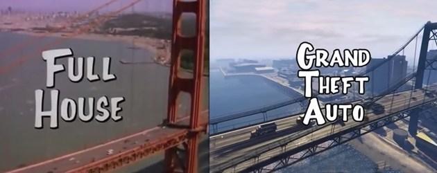 Full House Versus Grand Theft Auto V