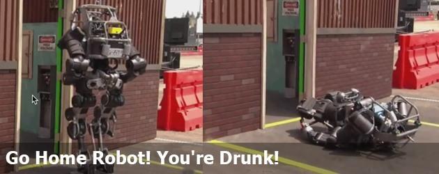 Go Home Robot! You're Drunk!