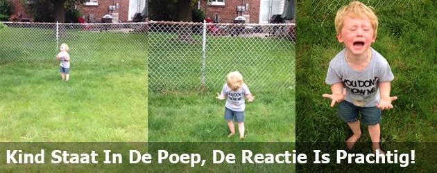 Kind Staat In De Poep, De Reactie Is Prachtig!