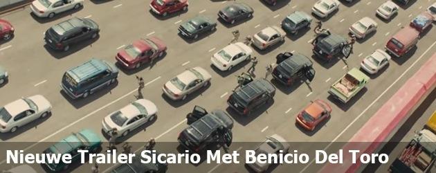 Nieuwe Trailer Sicario Met Benicio Del Toro
