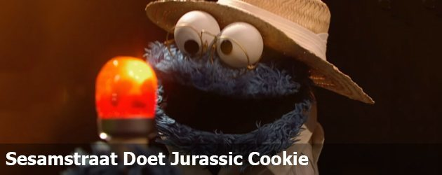 Sesamstraat Doet Jurassic Cookie