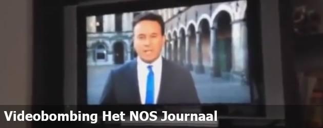 Videobombing Het NOS Journaal