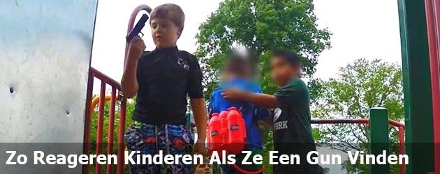 Zo Reageren Kinderen Als Ze Een Geweer Vinden