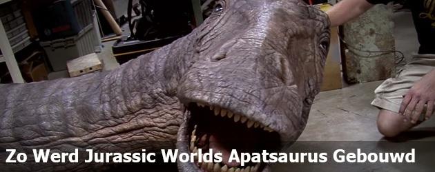 Zo Werd Jurassic Worlds Apatsaurus Gebouwd