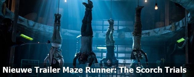 Nieuwe Trailer Maze Runner: The Scorch Trials