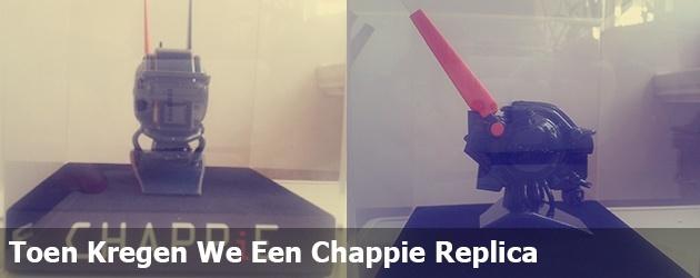 Toen Kregen We Een Chappie Replica