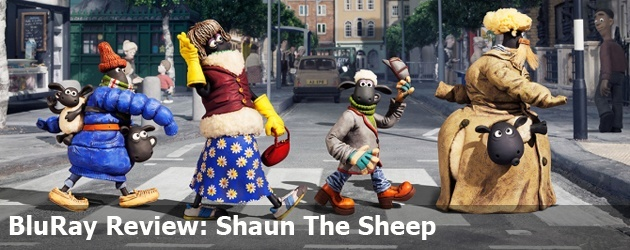 BluRay Review: Shaun The Sheep