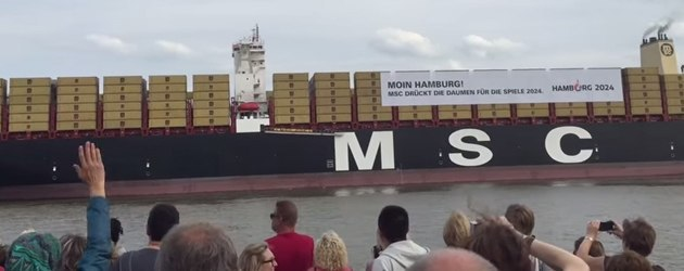 Container Schip Doet Star Wars Theme
