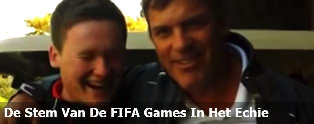 De Stem Van De FIFA Games In Het Echie