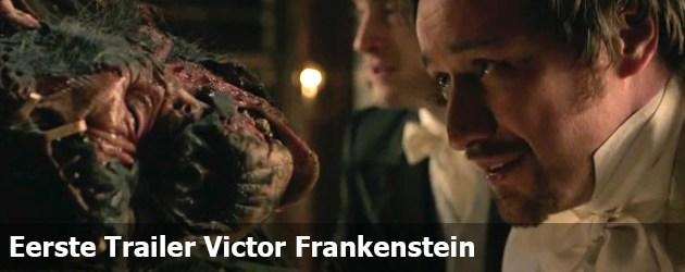 Eerste Trailer Victor Frankenstein
