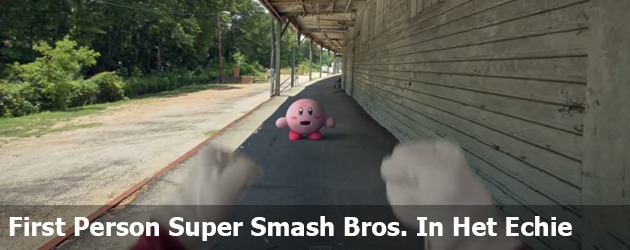 First Person Super Smash Bros. In Het Echie