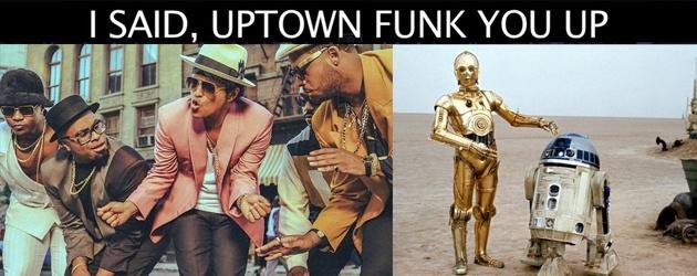 PrutsFM.nl Filmliefhebbers met teveel tijd, Markie houdt van ze. Uren knip en plakwerk zit hierin. Maar dan heb je ook wat. Mark Ronson's Uptown Funk gezongen door de grootste filmhelden.