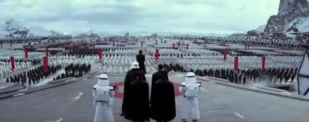 PrutsFM.nl In de nieuwe Aziatische Star Wars The Force Awakens teaser zien we een een shot van een kolossaal leger. Het beeld waarin het leger wordt getoond, is het enige nieuwe materiaal in de Star Wars The Force Awakens teaser, die verder uit shots bestaat die in eerdere trailers te zien waren.