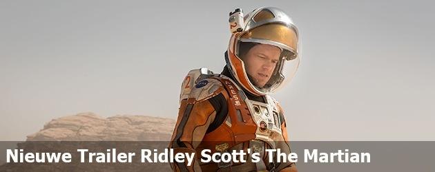 Nieuwe Trailer Ridley Scott's The Martian
