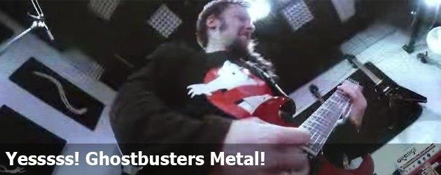 Yesssss! Ghostbusters Metal!
