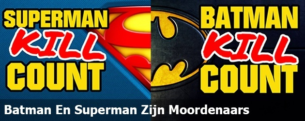 Batman En Superman Zijn Moordenaars