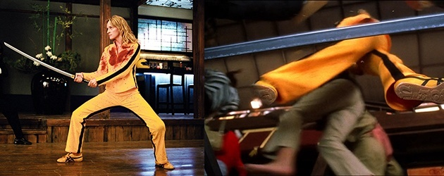 De Schoenzool Van Uma Thurman In Kill Bill