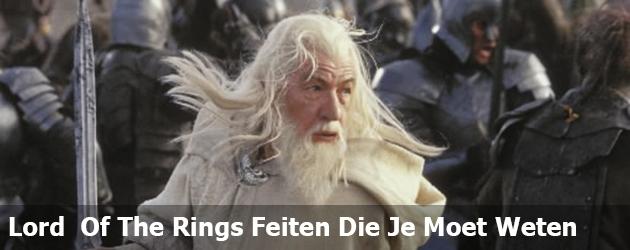Lord  Of The Rings Feiten Die Je Moet Weten