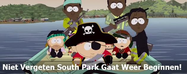 Niet Vergeten South Park Gaat Weer Beginnen!