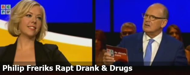 Philip Freriks Rapt Drank & Drugs