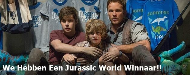 We Hebben Een Jurassic World Winnaar!!